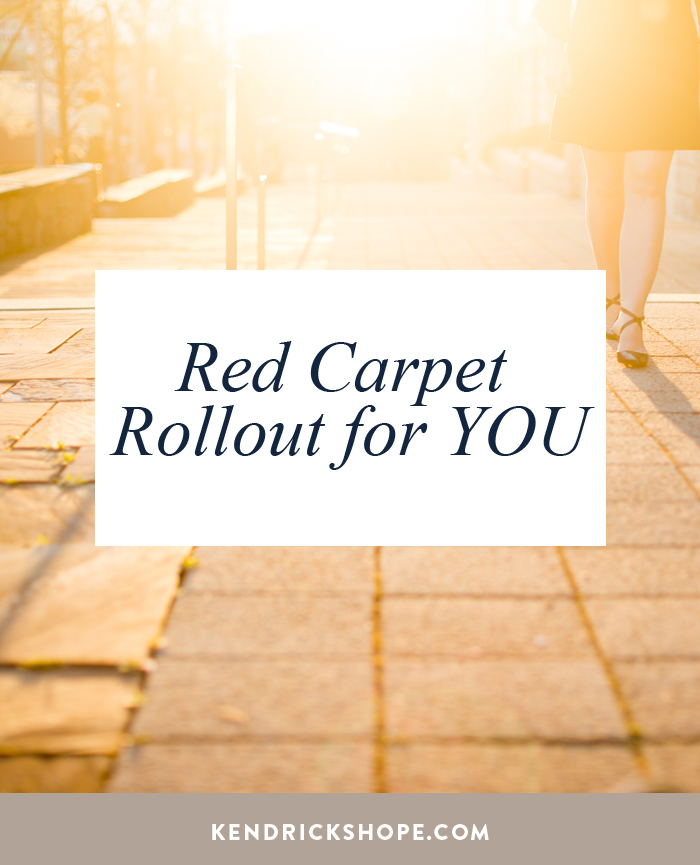 Red Carpet Rollout for YOU by Kendrick Shope, CEO & Creator Authentic Selling ®, Creator Of The Leading Sales Training For Women Owned Businesses. #entrepreneur #sales #salestips #ladyboss