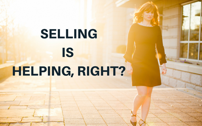 Selling Is Helping