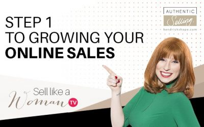 Step 1 To Growing Your Online Sales