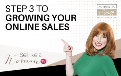 Step 3 To Growing Your Online Sales