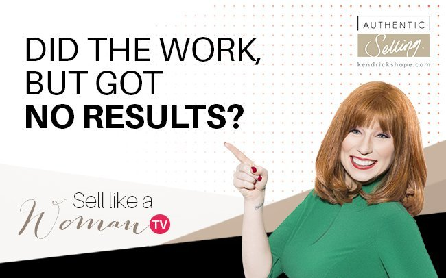 Did The Work But Got No Results? Watch This