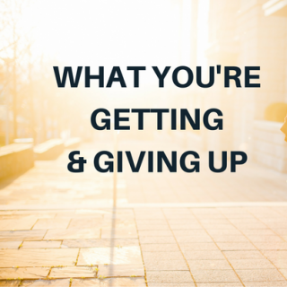 What you're really getting (and giving up)
