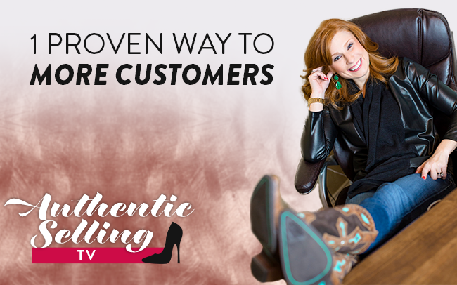 One Proven Way To More Customers