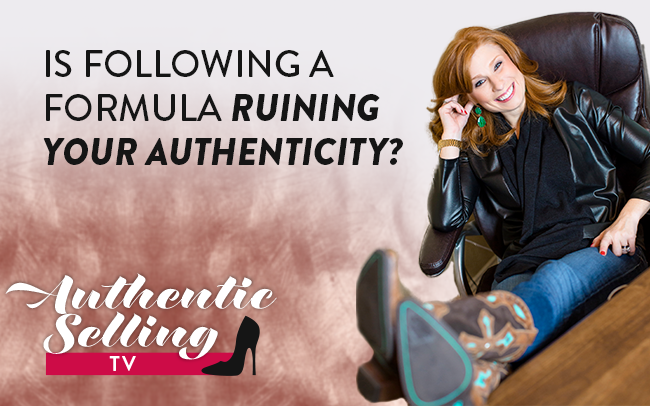 Is Following A Formula Ruining Your Authencity?