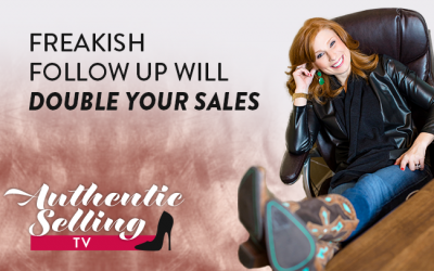 Freakish Follow Up Will Double Your Sales