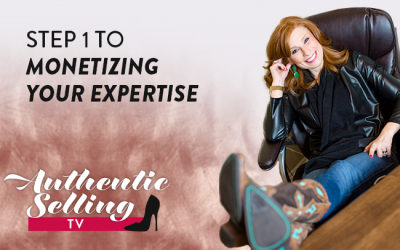 Step 1 To Monetizing Your Expertise